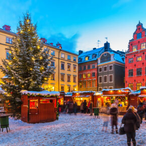 Ab nach Skandinavien: Hin- & Rückflüge nach Dänemark, Schweden, Norwegen & Finnland ab 8€