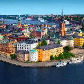 Langes Wochenende in Schweden: 4 Tage Stockholm mit toller Unterkunft & Flug nur 49€