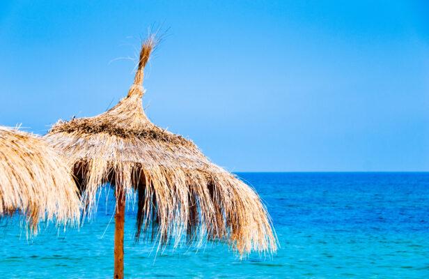 Tunesien Sonnenschirm