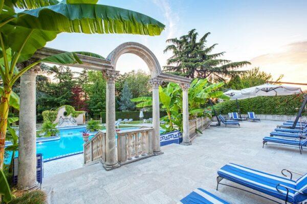 Abano Ritz Terme Außenanlage