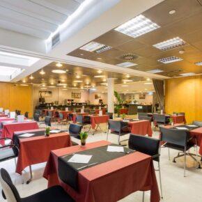 Ayre Hotel Caspe Gastro
