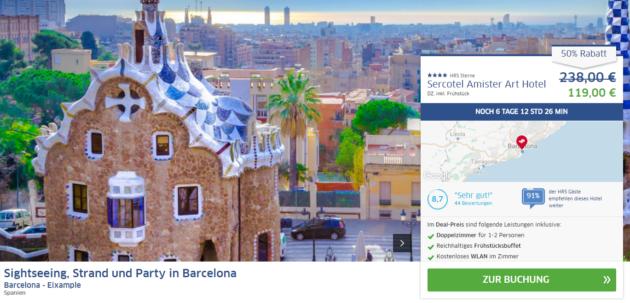 Barcelona Kurztrip