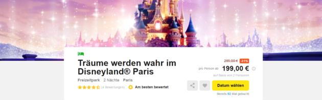 Disneyland® Paris Schnäppchen