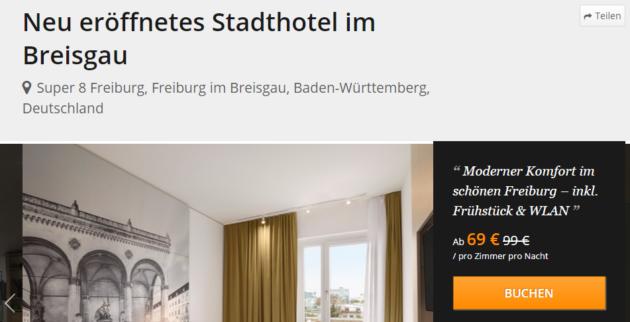 Freiburg Hotel Schnäppchen