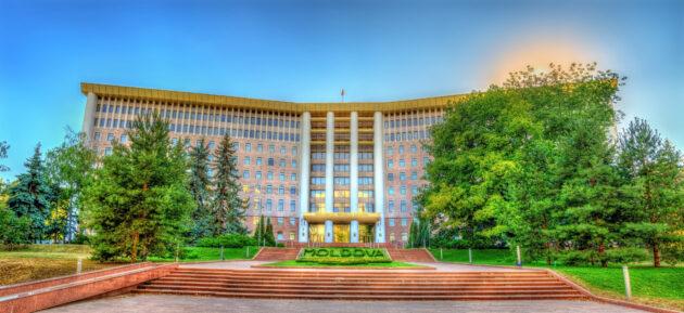 Moldawien Chisinau Parlament