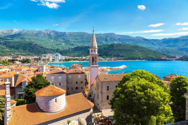 Montenegro Budva Stadt