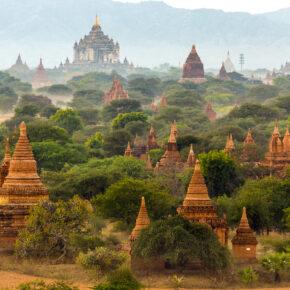Myanmar: Bagan Tipps - Pagoden, Tempel & Heißluftballons