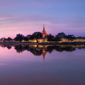 Myanmar Mandalay Stadt