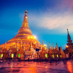 Myanmar Yangon Kirche
