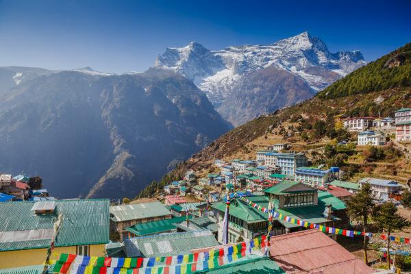 Nepal Himalaya Stadt