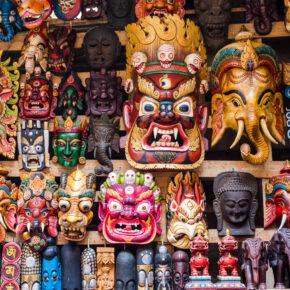 Nepal Masken