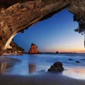 Waitomo Caves: Leuchtende Glühwürmchen-Höhle in Neuseeland