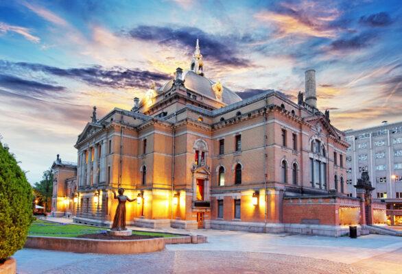 Norwegen Oslo Nationaltheater