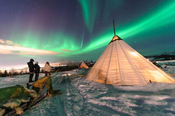 Norwegen Zelt