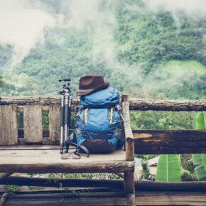 Rucksack Reisen Wandern