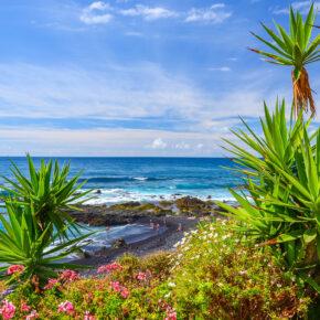 Single Reise im Juli: 7 Tage Teneriffa mit 3* Hotel, Flug, Transfer & Zug nur 362€