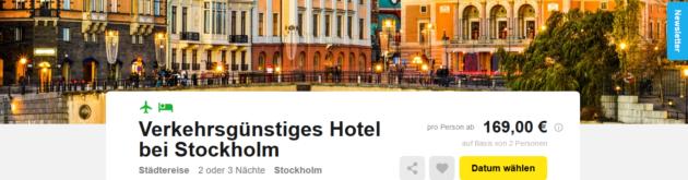 Stockholm Städtetrip