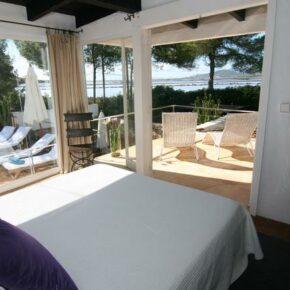 Villa Ibiza Schlafzimmer mit Ausblick