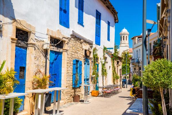 Zypern Aiya Napa Straße