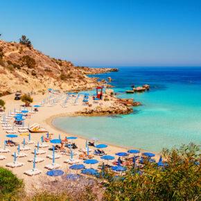 Wochenend-Trip: 4 Tage Zypern mit 3* Hotel & Flug für unglaubliche 78€ // mit Mietwagen nur 116€