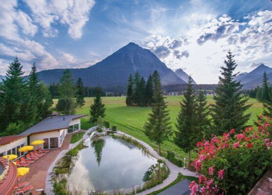 Alpenhotel Karwendel Teich