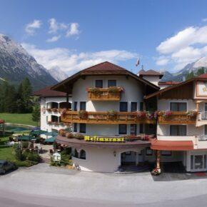 Alpenhotel Karwendel außen