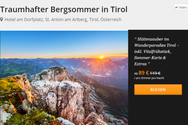 Hotel am Dorfplatz, St. Anton am Arlberg, Tirol