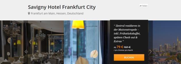 Frankfurt Hotel Schnäppchen