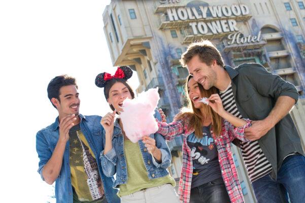 Freunde im Walt Disney Studios Park