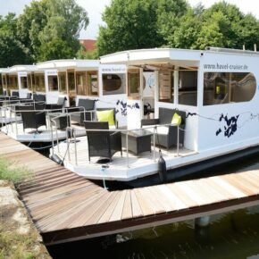Wochenende im Hausboot: 3 Tage in Brandenburg auf der Havel für 73€