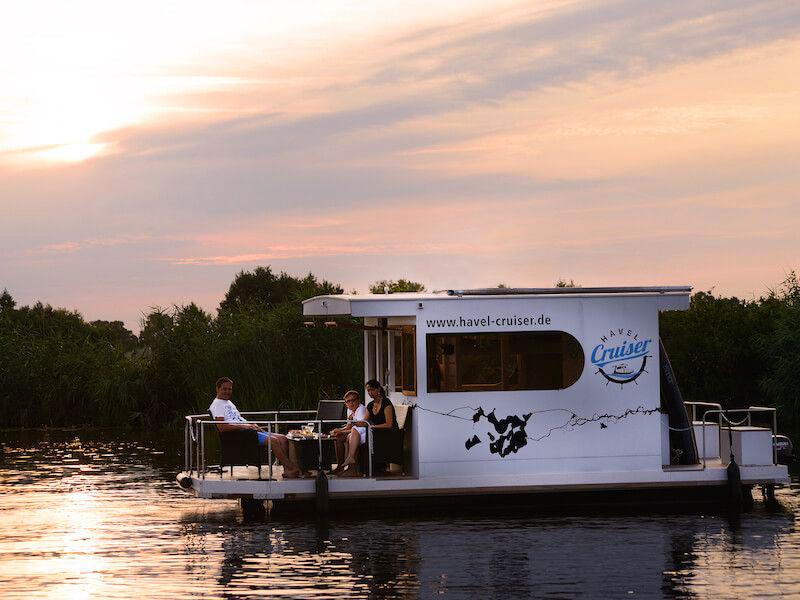 Wochenende im Hausboot: 3 Tage in Brandenburg auf der Havel für 73 ...