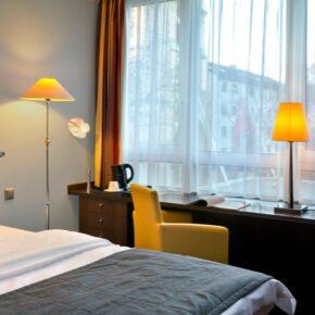 Hotel Savigny Frankfurt City Zimmer