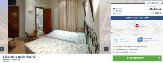 Madrid Hotel La Plata Angebot