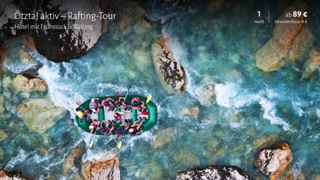 Ötztal Rafting Tour