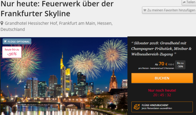 2 Tage Frankfurt