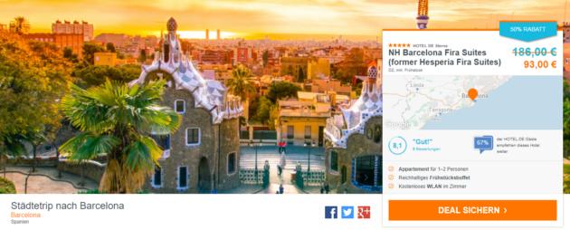 NH Barcelona Fira Suites