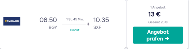 6 Tage Kreuzfahrt Rückflug