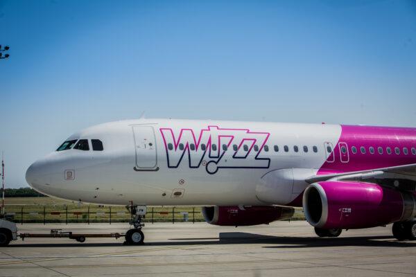 Wizz Air Flugzeug Turbine