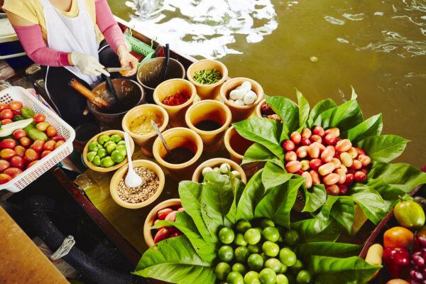 Thailand Markt Boot