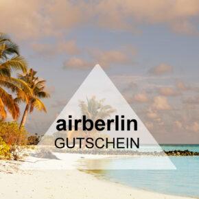 Airberlin Gutschein: 20 € bei der Anmeldung als Neukunde