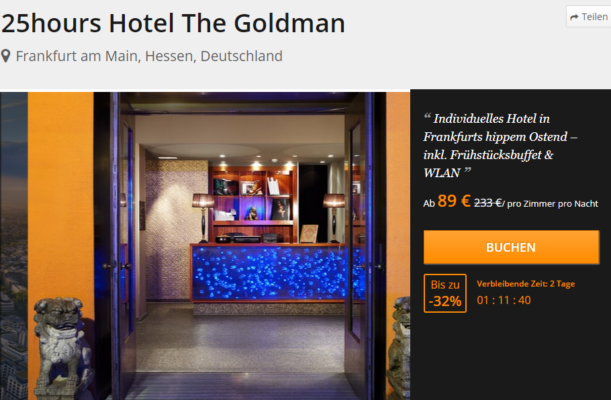 25hours Hotel The Goldman