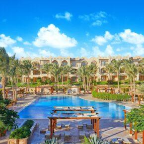 LUXUS PUR: 1 Woche im TOP 5* Hotel in Makadi Bay mit All Inclusive, Flug, Transfer & Zug nur 334€