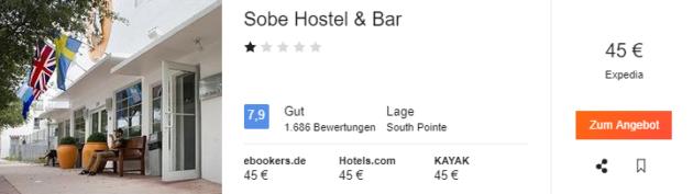 South Beach Hostel