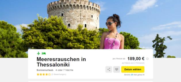 Thessaloniki Schnaeppchen