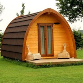 Zeit für Glamping: 4 Tage in einer Holzhütte in der Niederlande mit Frühstück für 139€