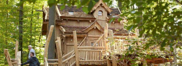 Baumhaus Tripsdrill Außen