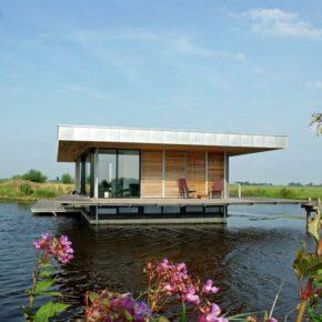 Wasser-Villa direkt im See: 1 Woche Luxus in den Niederlanden mit Sauna ab 167€