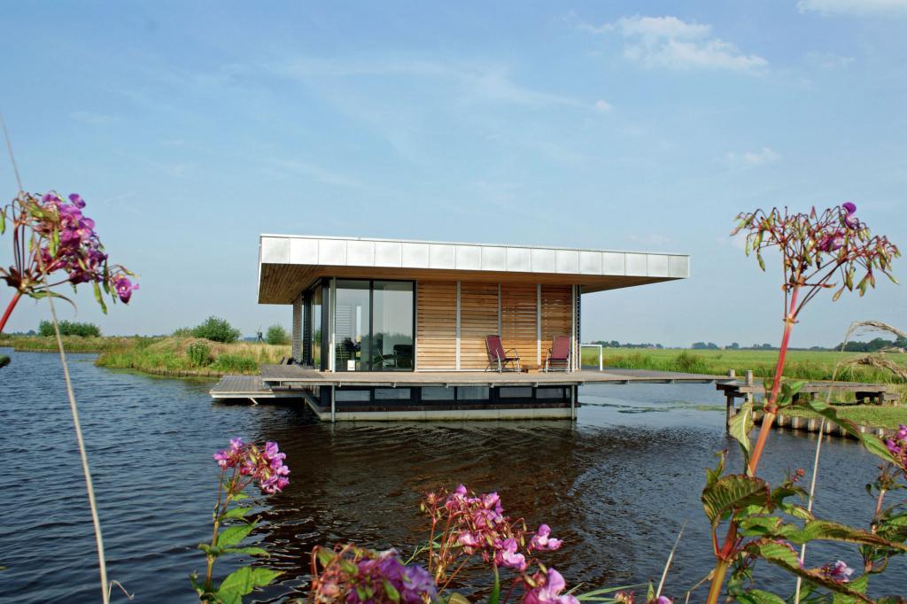 wasser villa direkt im see 1 woche luxus in den niederlanden mit sauna nur 167. Black Bedroom Furniture Sets. Home Design Ideas