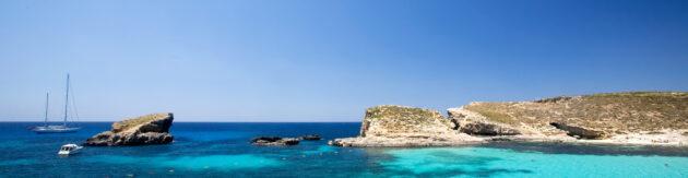Malta Blue Lagoon Panorama