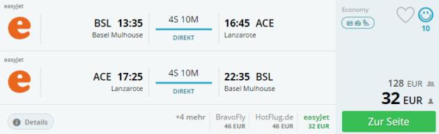 Basel to Lanzarote